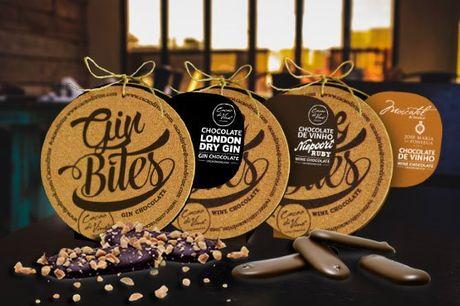 Os aromas e os sabores do vinho e chocolate numa combinação imperdivel. Cabaz da Cacaodivine, uma verdadeira experiência de degustação, por apenas 32,90€.