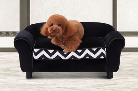 From £57 for a pet sofa - black or grey! d04-071bk d04-071gy d04-072gy from Mhstar Uk Ltd - save up to 44%