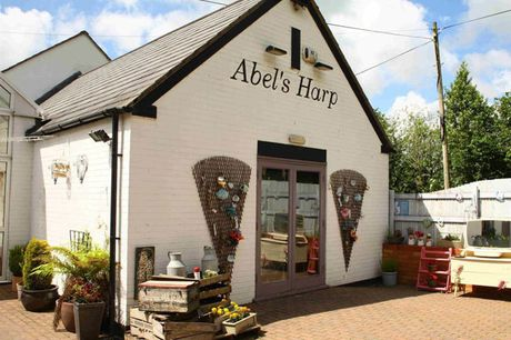 An overnight stay at Abel's Harp for two with hot tub access, an alpaca feeding experience and breakfast. From £59 for one night, £89 for two nights, £119 for three nights or £149 for four nights - save up to 26%
