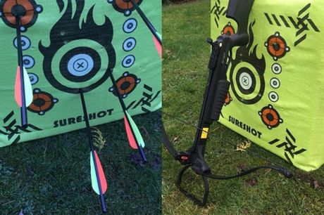 £17 for a one-hour crossbow shooting experience for one person at Firefly Activities, Kent, or £35 for two people - save up to 15%