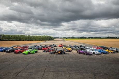 4-Lap One-Secret-Supercar or 16-Lap Three-Secret-Supercar Driving Experience at Drift Limits (50% Off)