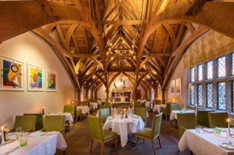 5* Two-Course Set Menu Lunch or Dinner for One or Two at Great Fosters Hotel Non-Accommodation (Up to 40% Off)