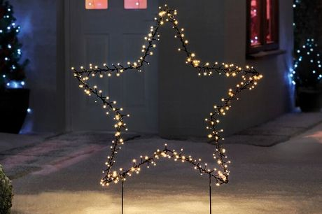 £24.99 instead of £79.99 for a 225 led outdoor festive light from Esher Mail Order Ltd - save up to 69%