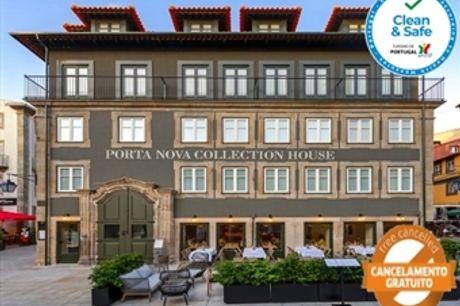 PORTA NOVA COLLECTION HOUSE: Estadia em Braga, junto à Sé, com Opção de Jantar e Pack Tradicional desde 42€. Venha Experimentar!