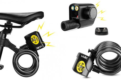 Intelligent og robust cykellås med alarm