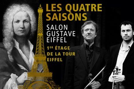 1 place au choix pour un concert de musique classique à La Sainte-Chapelle