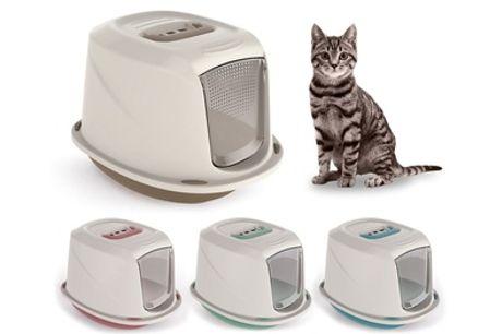 Inodoro para gatos con filtro Galaxy