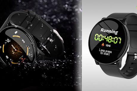 Vandtæt smart-ur med stor OLED skærm - perfekt til sport og udendørsaktiviteter