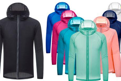 Åndbar og behagelig letvægtsjakke med UV-beskyttelse