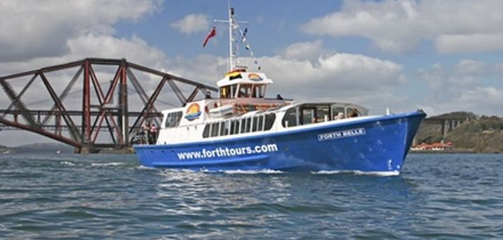 Three Bridges Boat Trip on Firth of Forth for Two with Forth Boat Tours (25% Off)