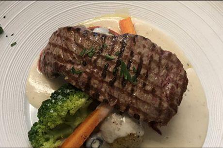 Dejlig deal på 4 retters italiensk menu - Bestil bord til en aften ude med skøn, italiensk mad. Du får en aperitif samt 4 skønne retter. Værdi kr. 300,-