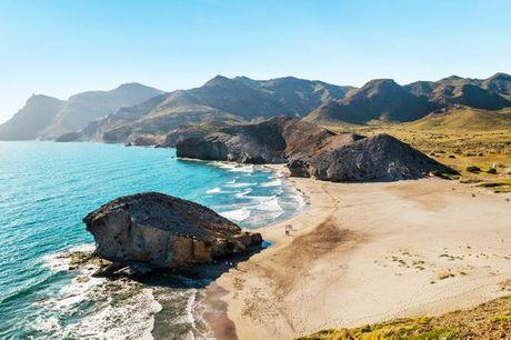 España Almería - Hotel Cabo de Gata 4* desde 126,00 €. Un hotel junto a la playa para viajar en familia
