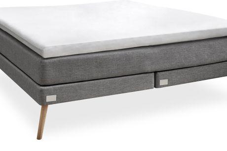 Nocturne Silver EF Kontinentalseng 180 x 200 cm. -