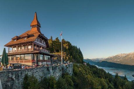 Mit eigenem PKW durch die Schweizer Naturidylle - Kostenfrei stornierbar, Gstaad, Interlaken & St. Moritz - save 15%