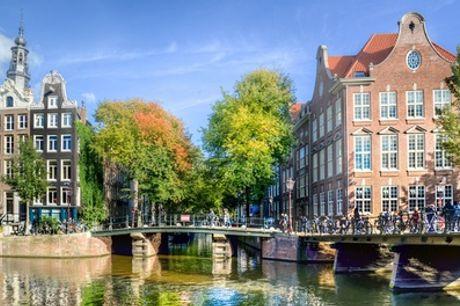 Hartje Amsterdam: standaard tweepersoonskamer incl. ontbijt in 4* Hotel Die Port van Cleve