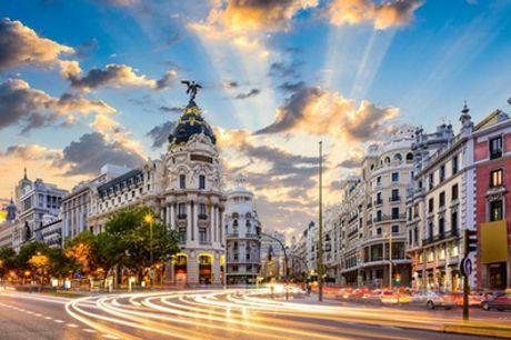 Madrid: habitación doble o twin para 2 personas con opción a desayuno en Vincci Soho 4*