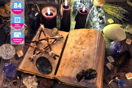 £19 instead of £150 for a Magical Witchcraft and Wicca online course bundle from OfCourse – save 87%