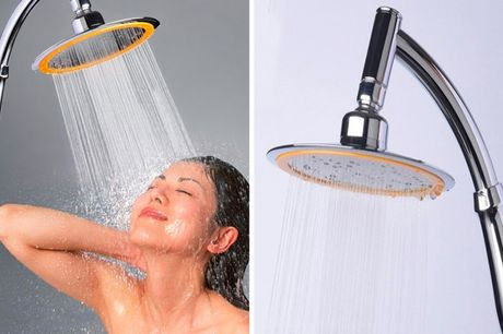 £9.99 instead of £29.99 for a 15cm booster shower head from Hey4beauty – save 67%