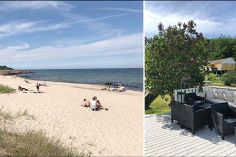 Billig ferie Bornholm - Bornholm, Bornholm, Bornholm. Du, min dejlige ferieø - 3 nætter i 2-3 personers standard 1-værelses ferielejlighed hos Sandkås Feriecenter. Værdi kr. 2385,-