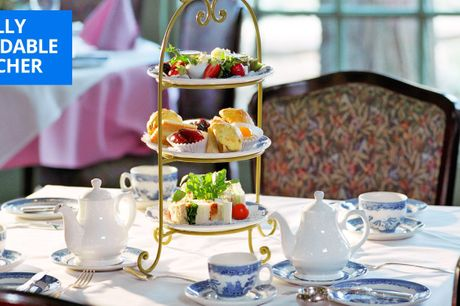 £19 -- Yorkshire: afternoon tea & bubbly for 2, 48% off