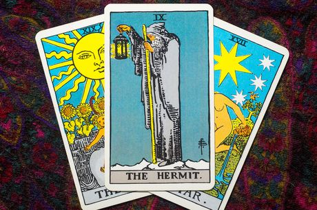 £4 for an online three-card tarot reading, or £6 for a 12-card from Tarot 4 You
