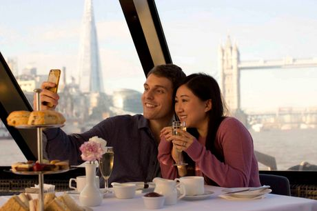 27% off a river cruise with afternoon tea for two