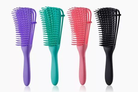 £4.99 for a detangling paddle brush with flexible teeth, £8.99 for two paddle brushes for from I-nod