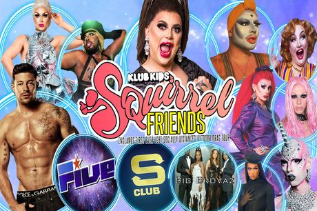 £67 instead of £81.38 for an outdoor socially distanced drag event with RuPaul Drag Race Queens for four people, or £88 for six people - choose from three locations and save up to 18%