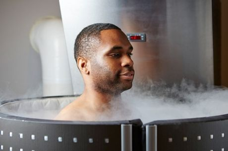 Two- or Three-Minute Cryotherapy Session at The Cryo Hub (50% Off)