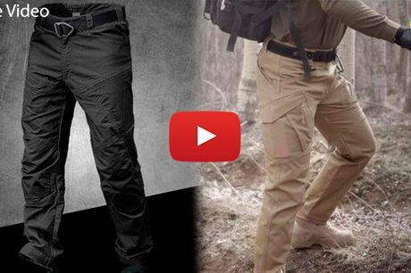 Effektive og komfortable taktiske bukser med mange funktioner
