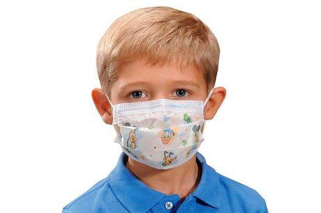 4 mundbind til børn Sundhedsstyrelsen har nu gjort det til et krav, at børn fra 12 år skal bære mundbind i den kollektive trafik. Du får min. 3 forskellige motiver til både drenge og piger. Husk som alle mundbind er det ikke en garanti for ikke at blive s