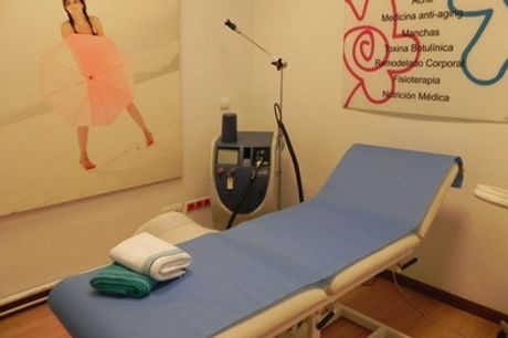 Tratamiento facial con radiofrecuencia, microdermoabrasión y limpieza 6 en 1 por 29,95 € en Clínica Lladó