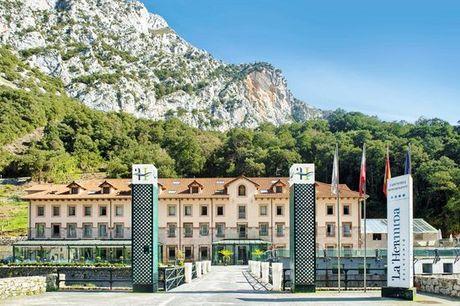 España Cantabria - Hotel Balneario La Hermida 4* desde 85,00 €. Circuito termal en un entorno singular en media pensión