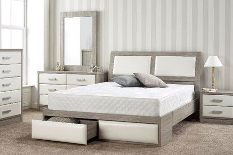 From £59 for a luxury hybrid memory sprung mattress from Mattress Haven - save up to 85%