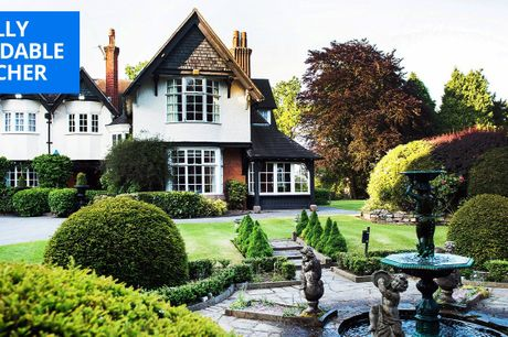£79 -- Cheshire country house stay with bubbly, save 53%