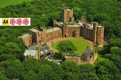From £115 (at Peckforton Castle) for an overnight 4* Cheshire stay for two people with breakfast and two-course brasserie dining, or from £135 to include three-course dining in the triple AA-Rosette restaurant - save up to 51%