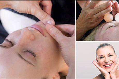 Naturligt ansigtsløft - Ren wellness - Mere end bare en almindelig ansigtsbehandling - Prøv 1 x skøn og effektiv Japansk Lifting til en værdi af kr. 495,-