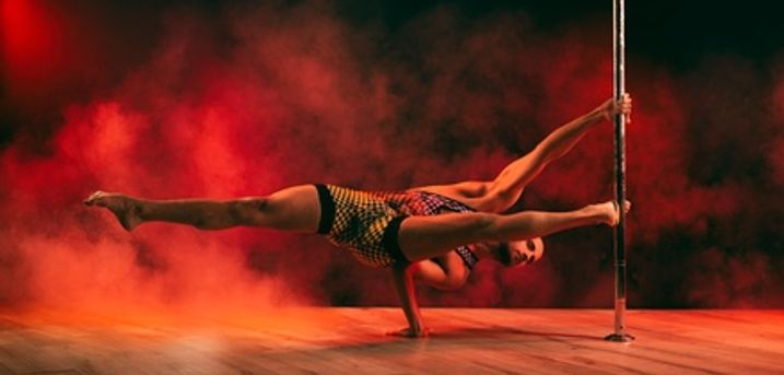 Pole Dancing, Aerial, Stretch or Dance Class for One or Two at GFFdamian Dance Studio (30% Off)