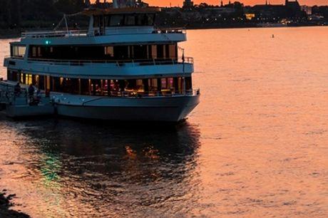 Schiffsfahrt auf dem Rhein & Stadt-Tour in Bonn für bis zu 4 Pers. bei Rheinland Eventagentur (bis zu42%sparen*)