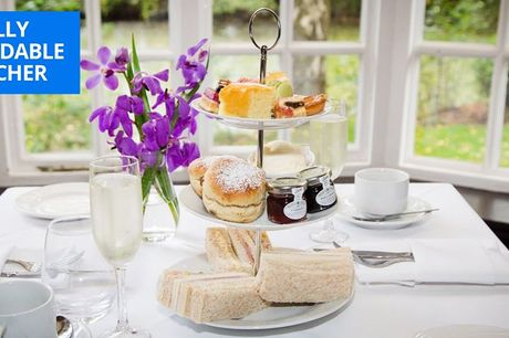 £24 -- Afternoon tea for 2 at AA-Rosette Cheshire manor