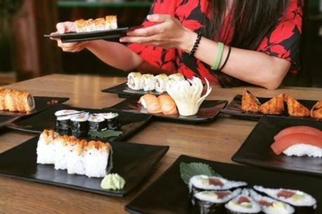 Buffet libre de comida japonesa para 2 personas en Jazmínthing