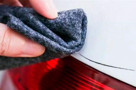 Smarte Nano-klude der simpelt og effektivt fjerner ridser i lakken