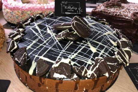 Vers gemaakte taart naar keuze voor 10, 30 of 50 personen afhalen bij FoodByKarg in Den Haag