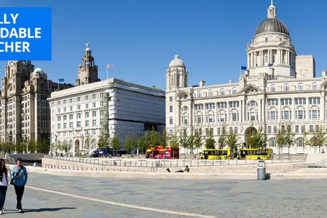 £59 -- Liverpool stay with breakfast & bubbly, save 56%