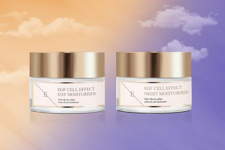 £19.99 instead of £105 for a two-piece Ultimate Cell Renewing & Skin Perfecting Day & Night Moisturiser set from Eclat Skin London - save 81%