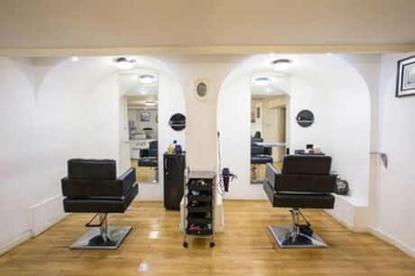 Cut and Blow-Dry, Half Head Highlights or Full Head LA WEAVE® at Solange Bee Hair and Beauty (Up to 42% Off)