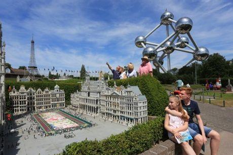 1 entreeticket voor kind of volwassene voor Mini-Europe in Brussel