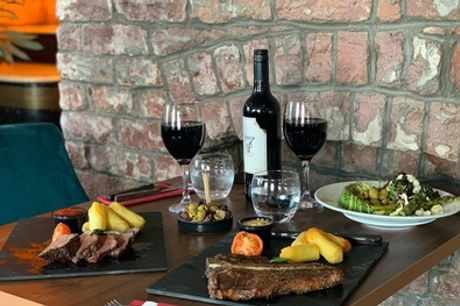 Two-Course Steak Meal with Glass of Wine for Up to Four at Signature Steakhouse (Up to 52% Off)