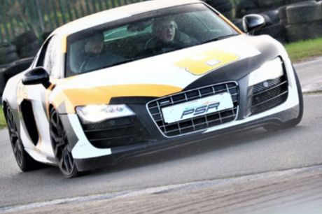 £19 for a one-lap supercar driving experience in an Audi R8 V10, £39 for three-laps, £59 for six-laps, or £89 for nine-laps at PSR Experience - choose from eight track locations and save up to 51%