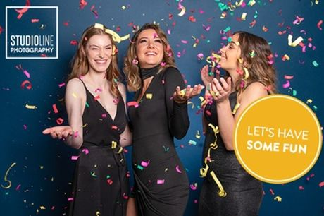 Geburtstag-Special: Fotoshooting für 1-6 Personen inkl. Make-up bei STUDIOLINE PHOTOGRAPHY (bis zu 73% sparen*)